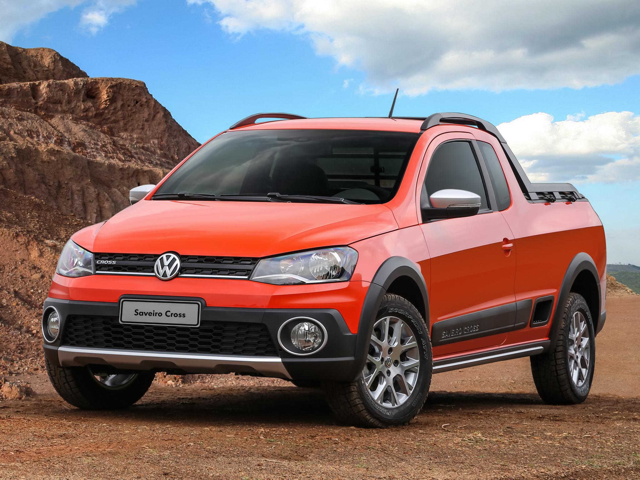 Funky Wall Lights >> 2014 Volkswagen Saveiro Cross Is a Funky Brazilian Pickup ...