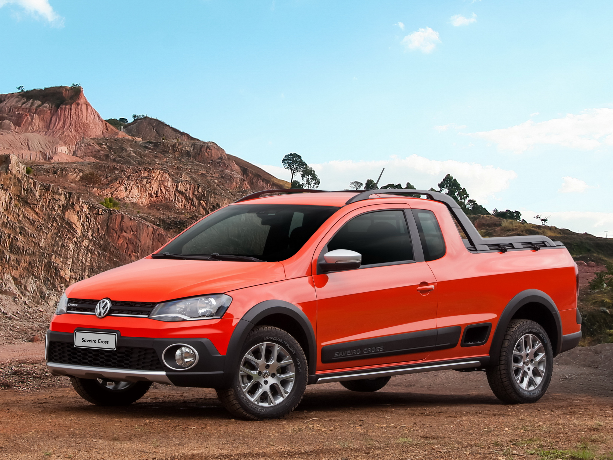 2014 Volkswagen Saveiro Cross Is A Funky Brazilian Pickup
