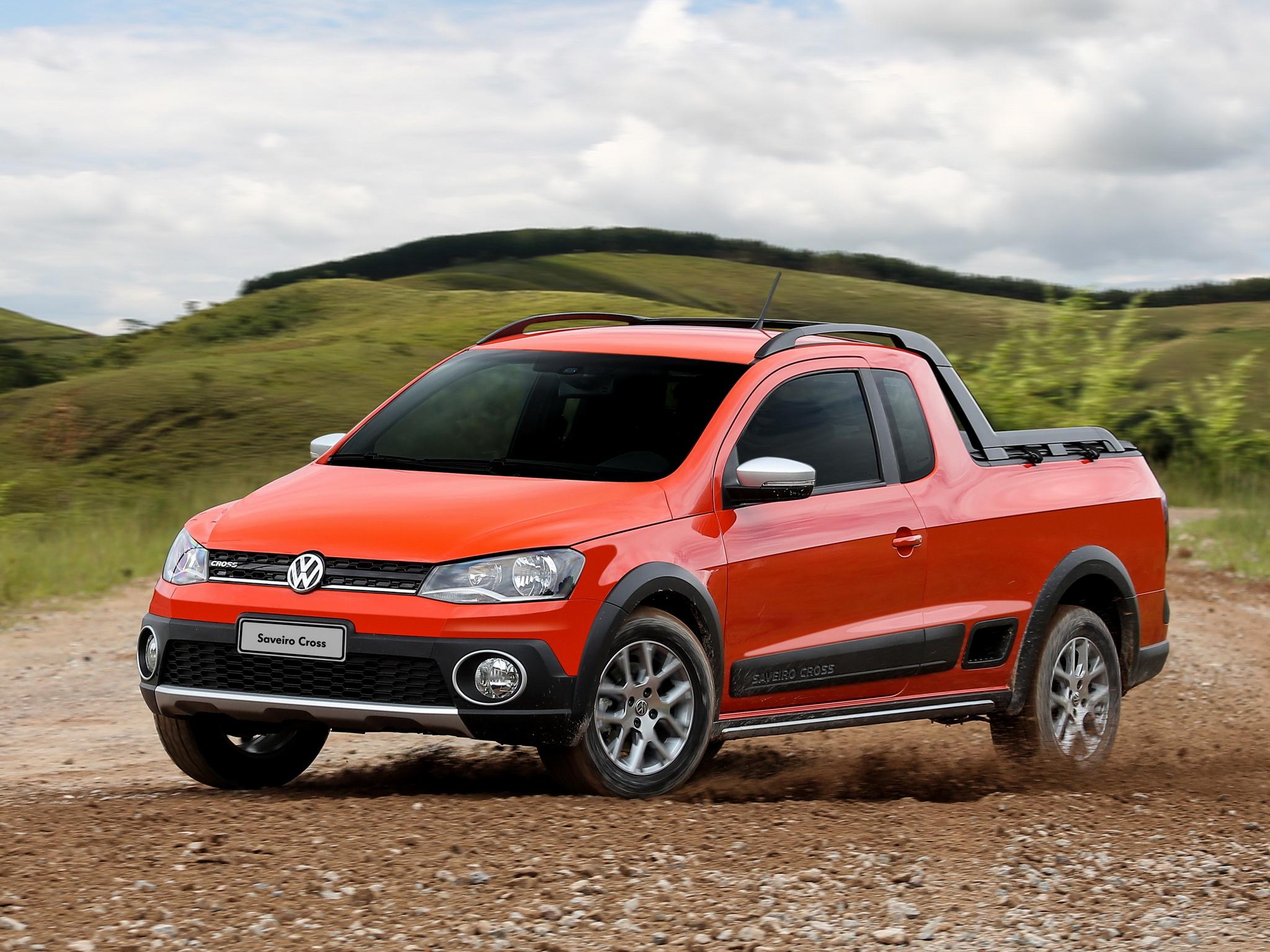 2014 Volkswagen Saveiro Cross Is A Funky Brazilian Pickup