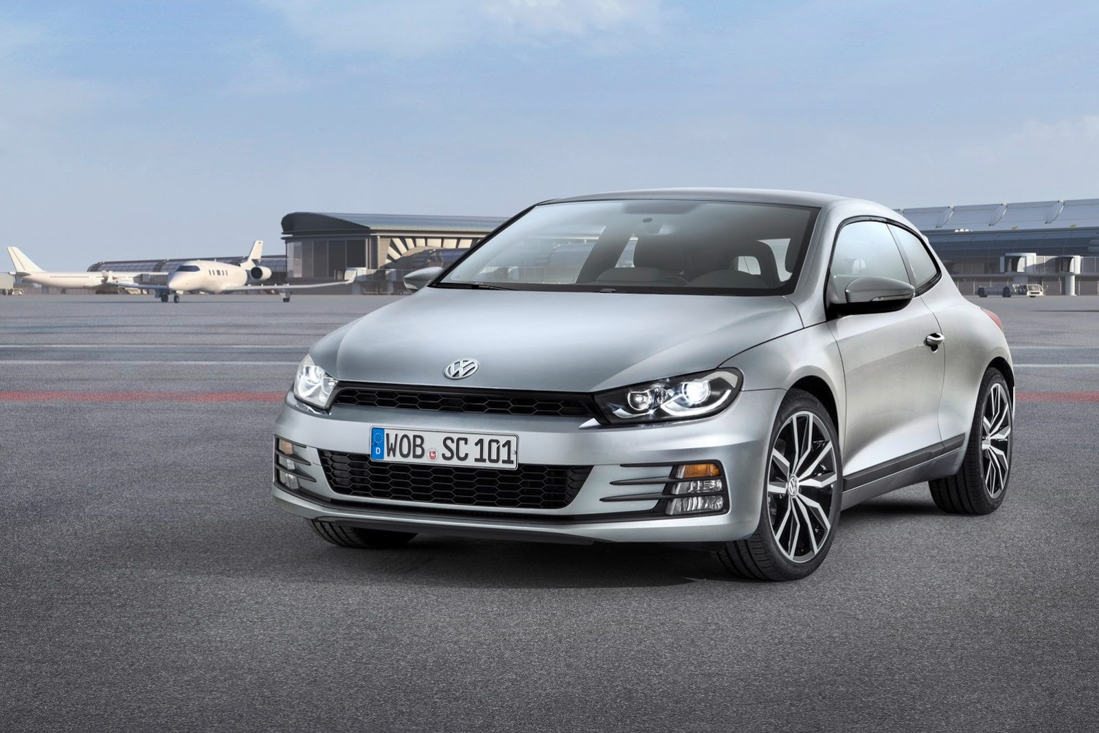 2014 volkswagen scirocco facelift revealed drops 1 4 tsi for 2 0 tsi autoevolution. Black Bedroom Furniture Sets. Home Design Ideas