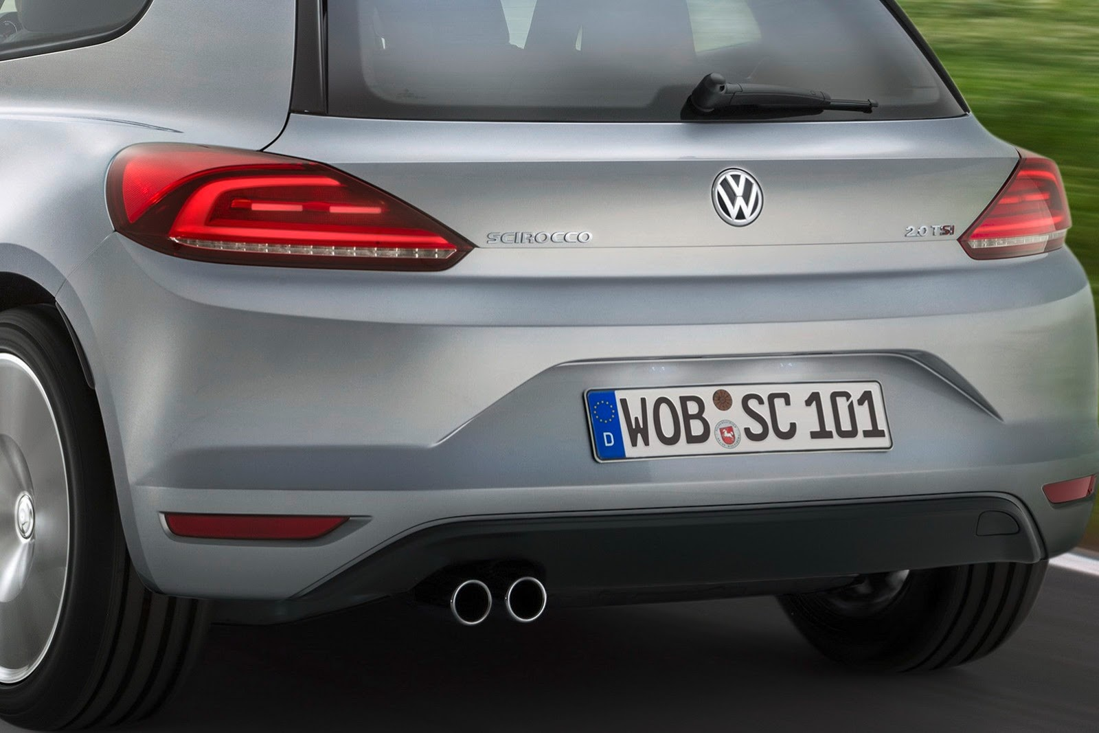 2014 Volkswagen Scirocco Facelift Revealed, Drops 1.4 TSI for 2.0 TSI - autoevolution