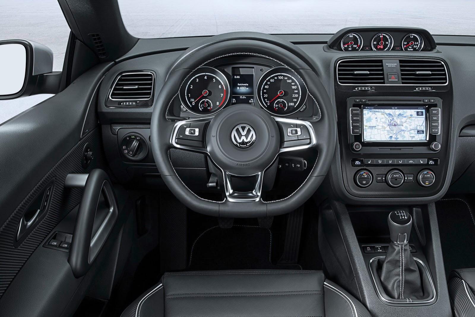 2014 volkswagen scirocco facelift revealed drops 1 4 tsi. Black Bedroom Furniture Sets. Home Design Ideas