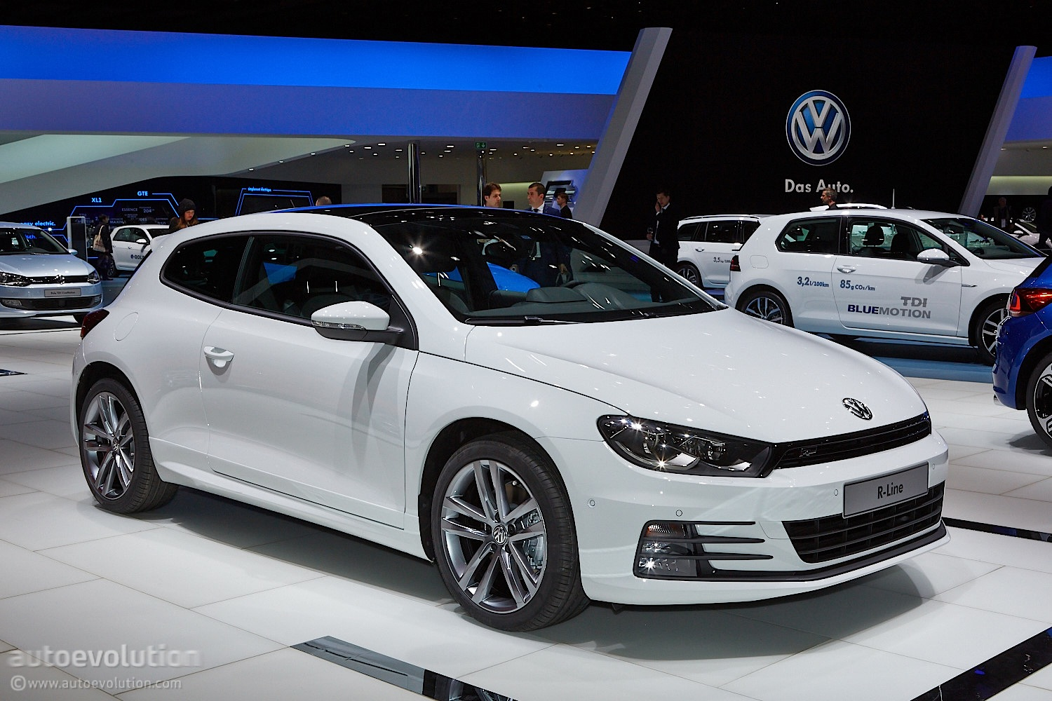 2014 vw scirocco facelift launched in britain pricing and details announced autoevolution. Black Bedroom Furniture Sets. Home Design Ideas