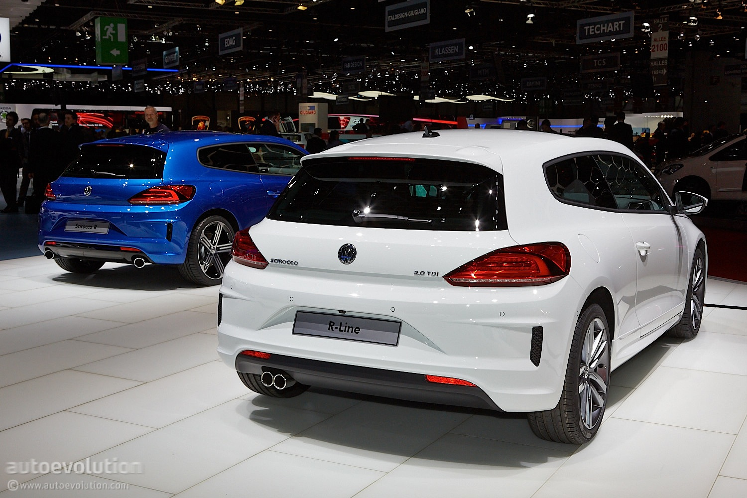 2014 VW Scirocco Facelift Launched in Britain: Pricing and Details Announced - autoevolution