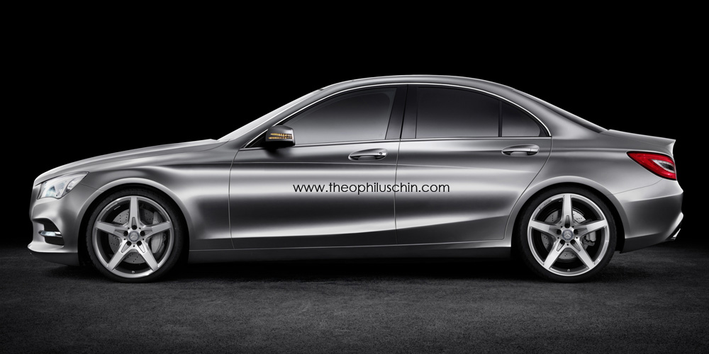 2014 w205 mercedes benz c class rendering autoevolution. Cars Review. Best American Auto & Cars Review