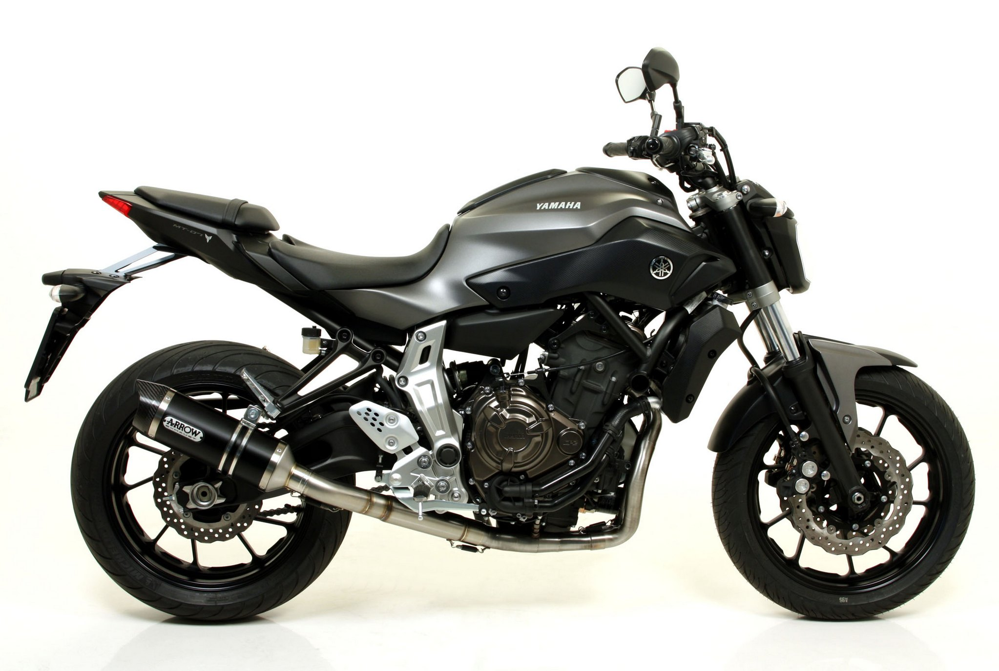 mt yamaha arrow exhaust upgrades receives autoevolution