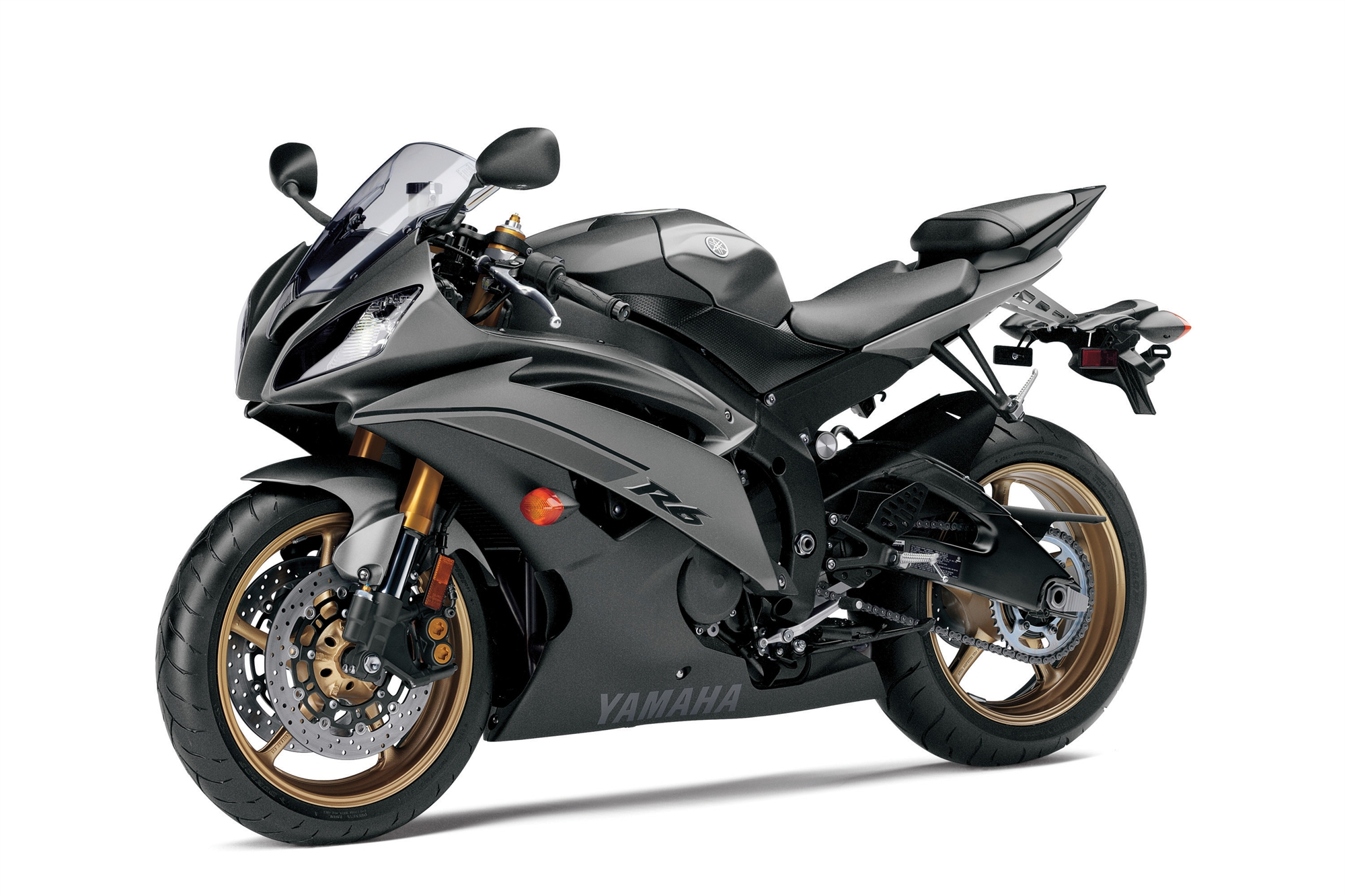 yamaha r6 black 2014 - photo #8