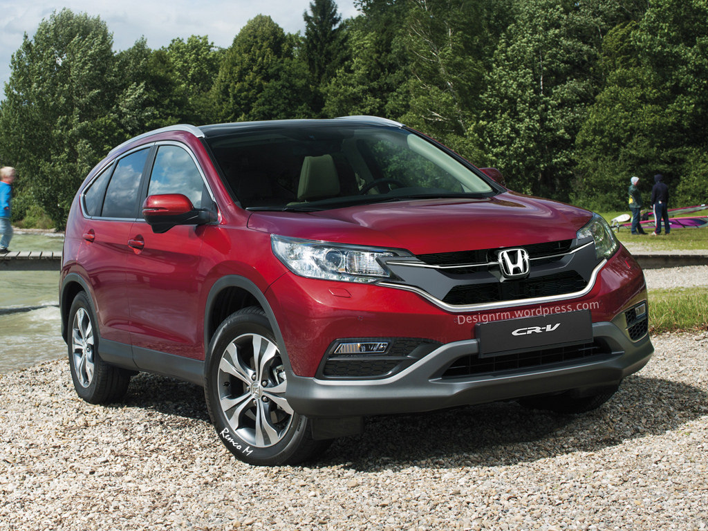 2015/2016 Honda CR-V Facelift - photo gallery