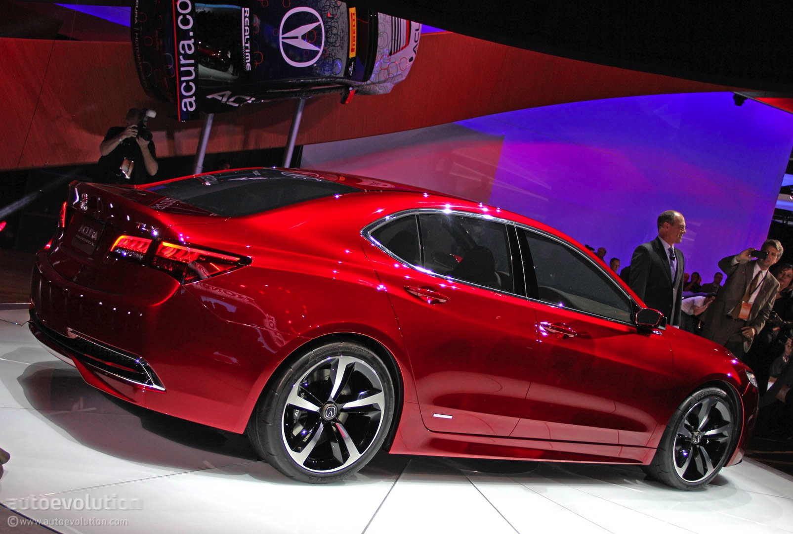 2015 Acura Tlx Prototype Unveiled At 2014 Detroit Show