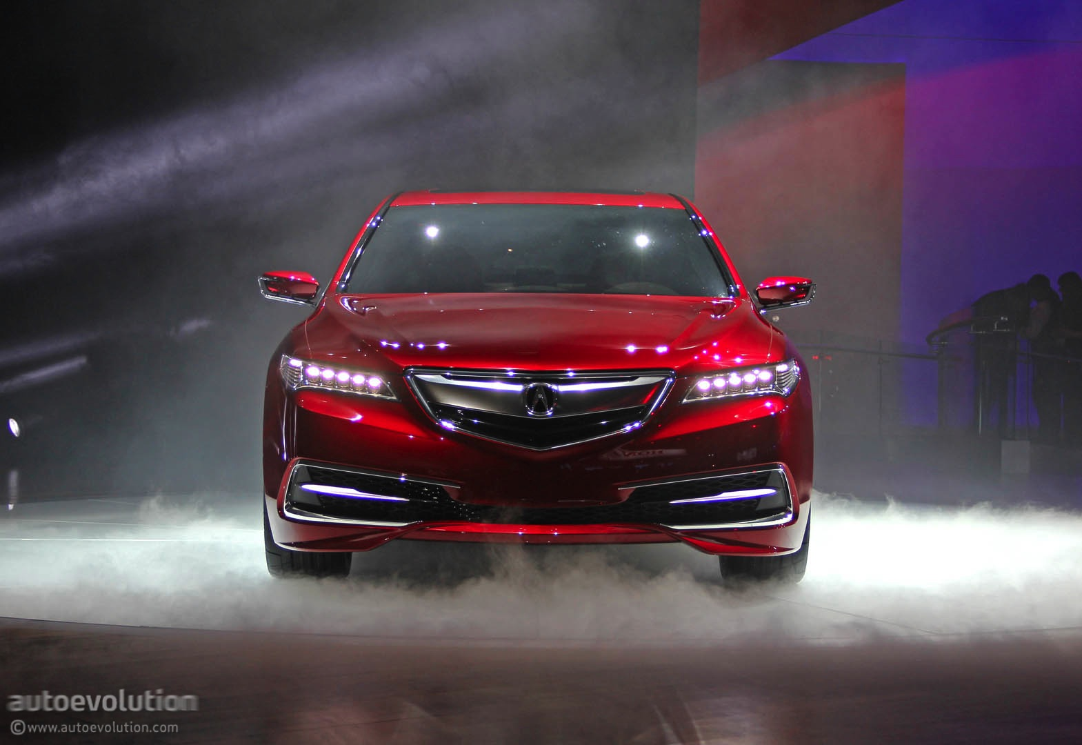 Acura TLX Prototype Unveiled At Detroit Show Live Photos - Acura tlx led headlights