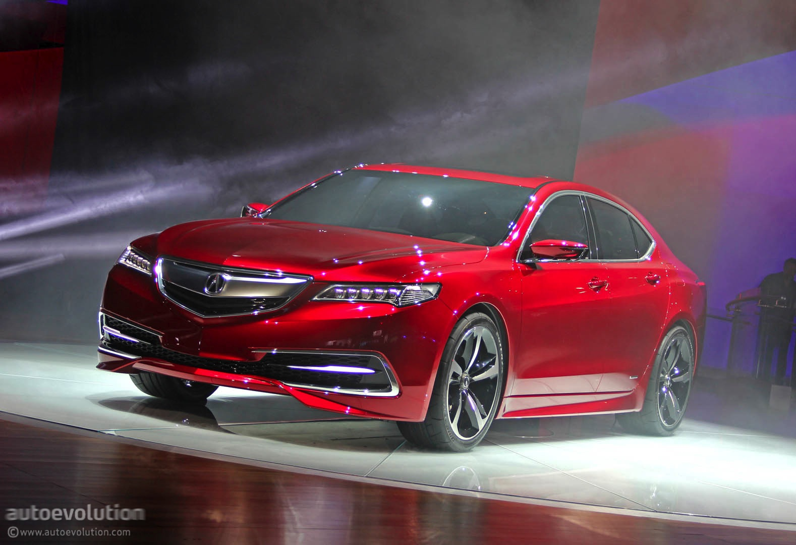 2015 Acura Tlx Tech >> 2015 Acura TLX Prototype Unveiled at 2014 Detroit Show ...