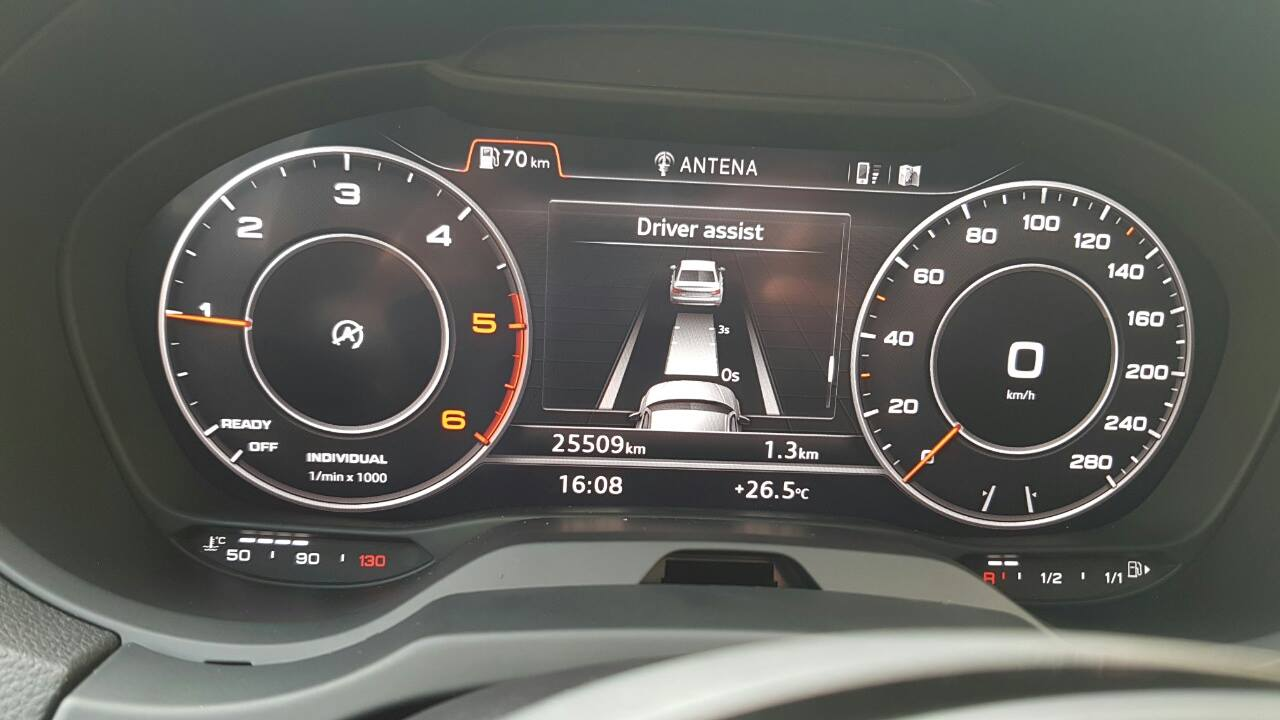 2015 Audi A3 Retrofitted With Virtual Cockpit, Other Facelift Features - autoevolution