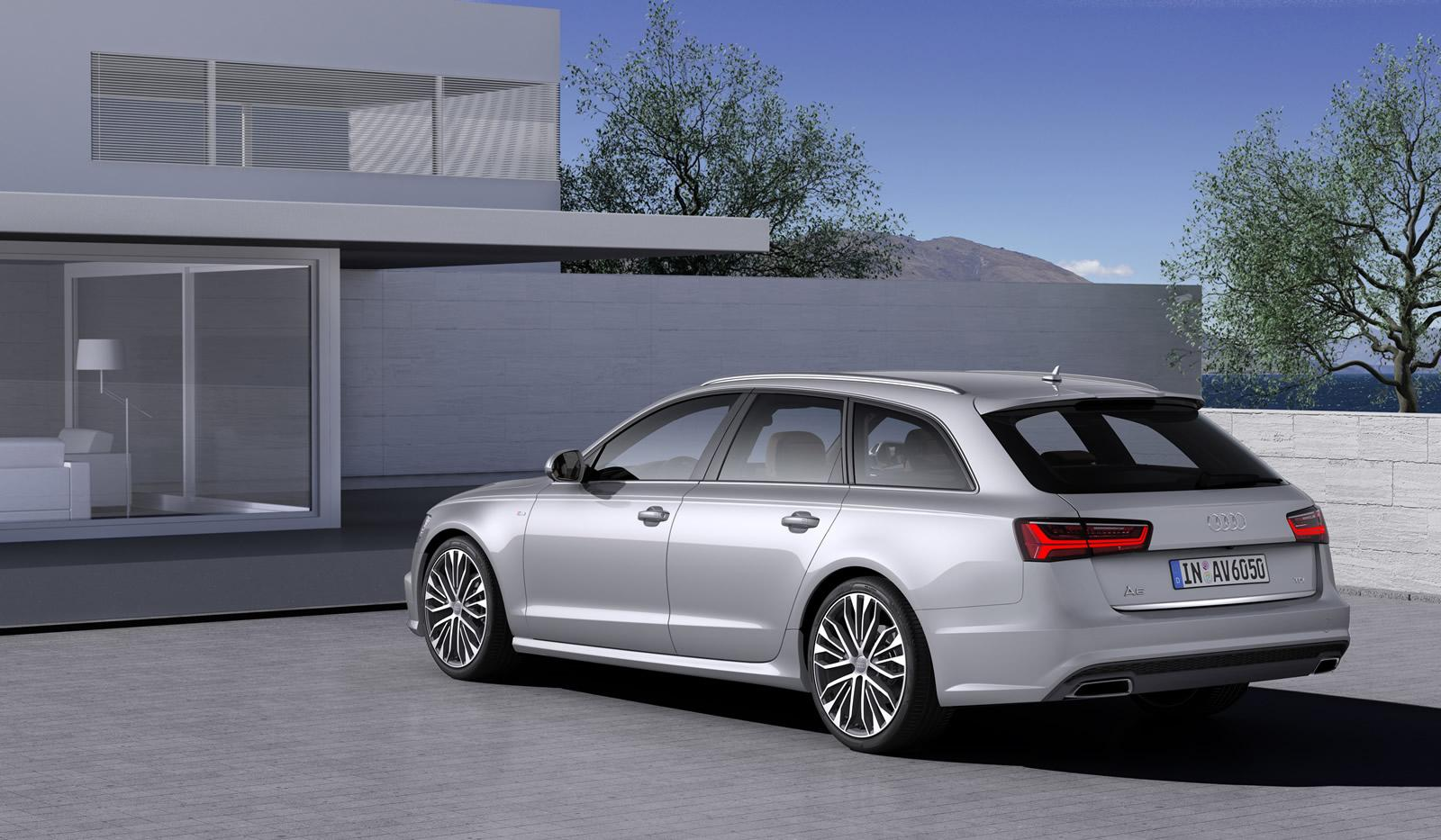 2015 audi a6 facelift makes video debut in avant ultra. Black Bedroom Furniture Sets. Home Design Ideas