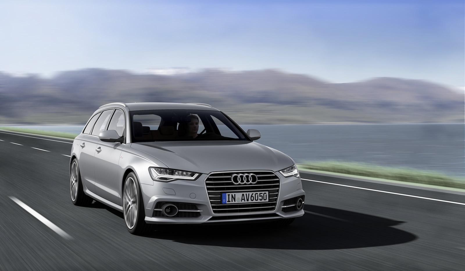 2015 audi a6 facelift makes video debut in avant ultra form autoevolution. Black Bedroom Furniture Sets. Home Design Ideas