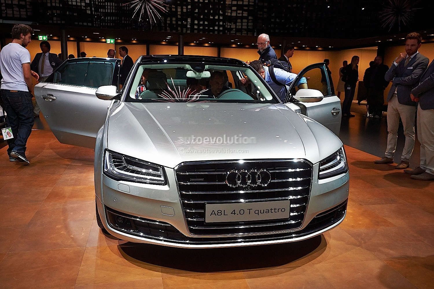 2015 audi a8 pricing and details announced autoevolution 2014 audi a8 facelift publicscrutiny Gallery