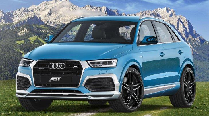 2017 Audi Q3 Gets Abt Cosmetic Updates 210 Hp Sel P