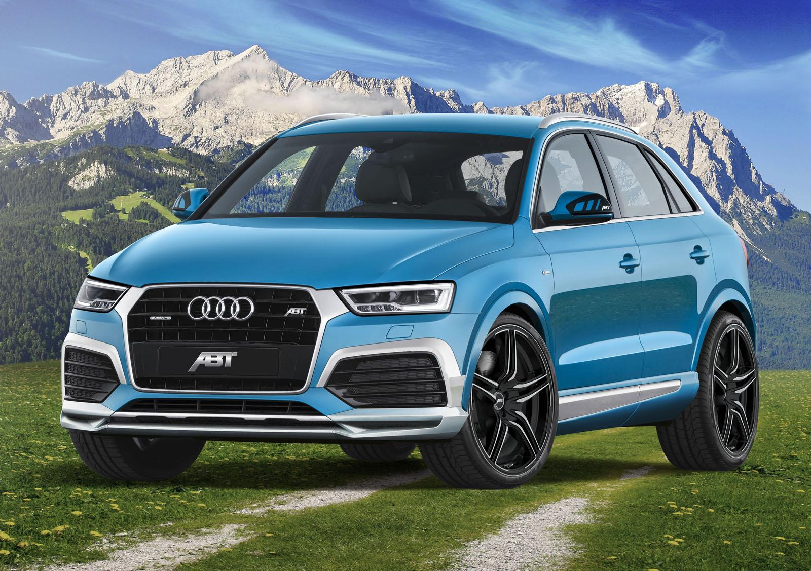 2015 audi q3 gets abt cosmetic tuning 210 hp upgrade for 2 0 tdi autoevolution. Black Bedroom Furniture Sets. Home Design Ideas