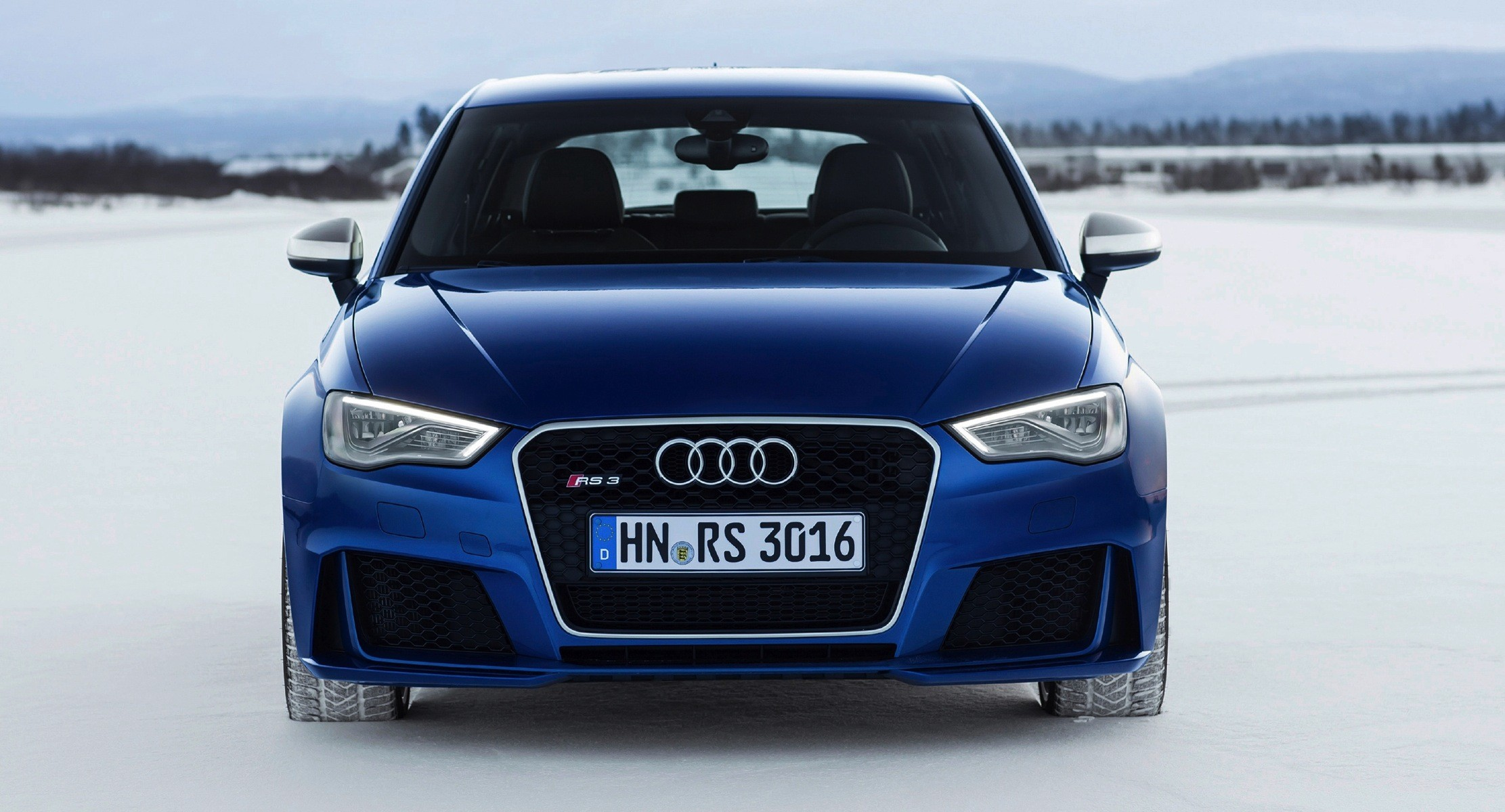 2015 Audi Rs3 New Photos Show Sepang Blue Color