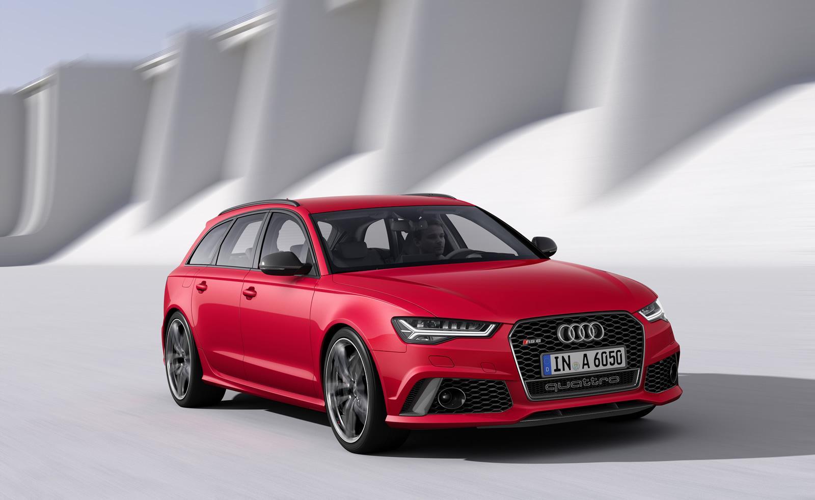 2015 Audi Rs6 Avant Facelift Photo Comparison Subtle
