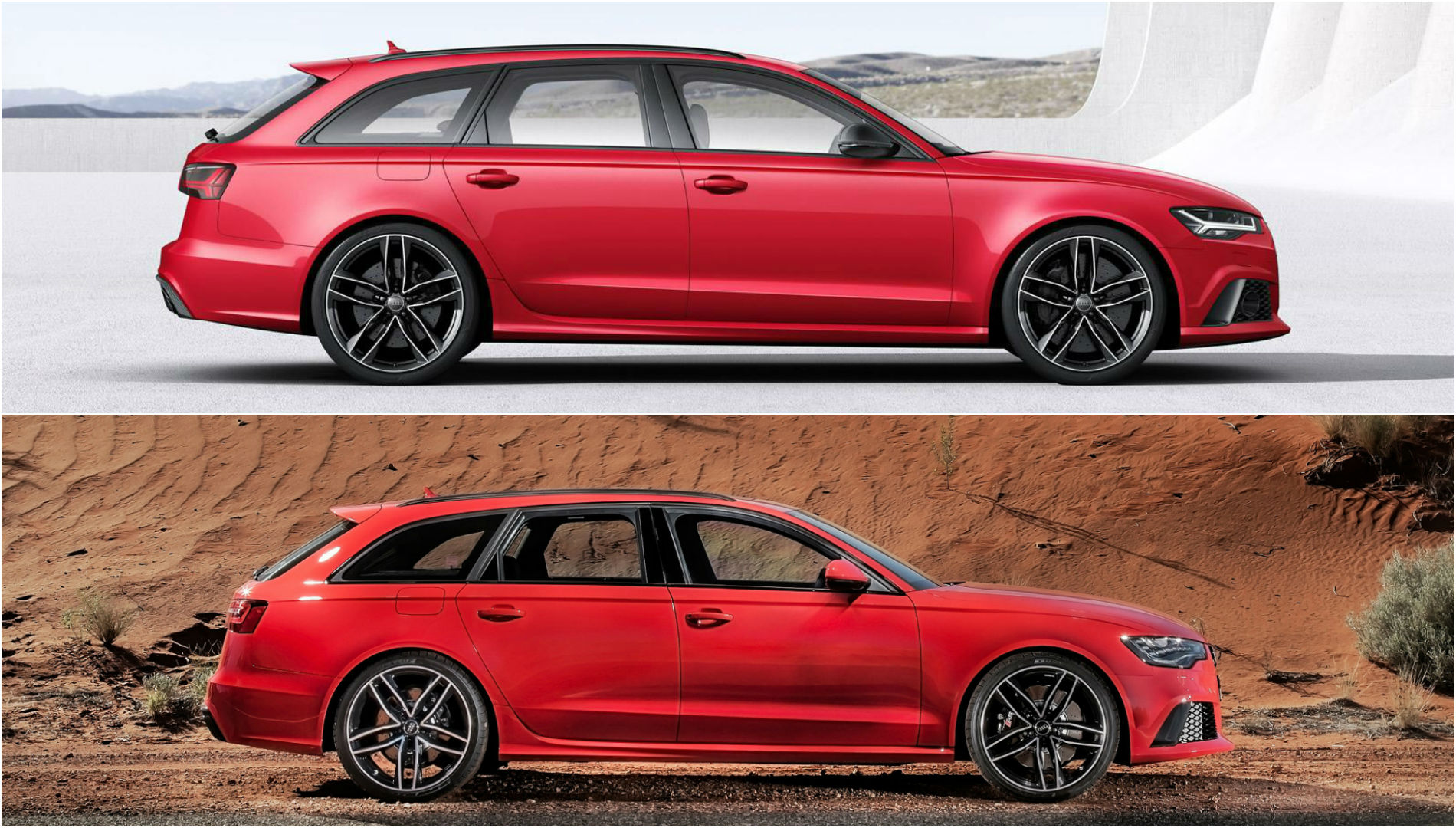 2015 audi rs6 avant facelift photo comparison subtle cosmetic changes autoevolution. Black Bedroom Furniture Sets. Home Design Ideas