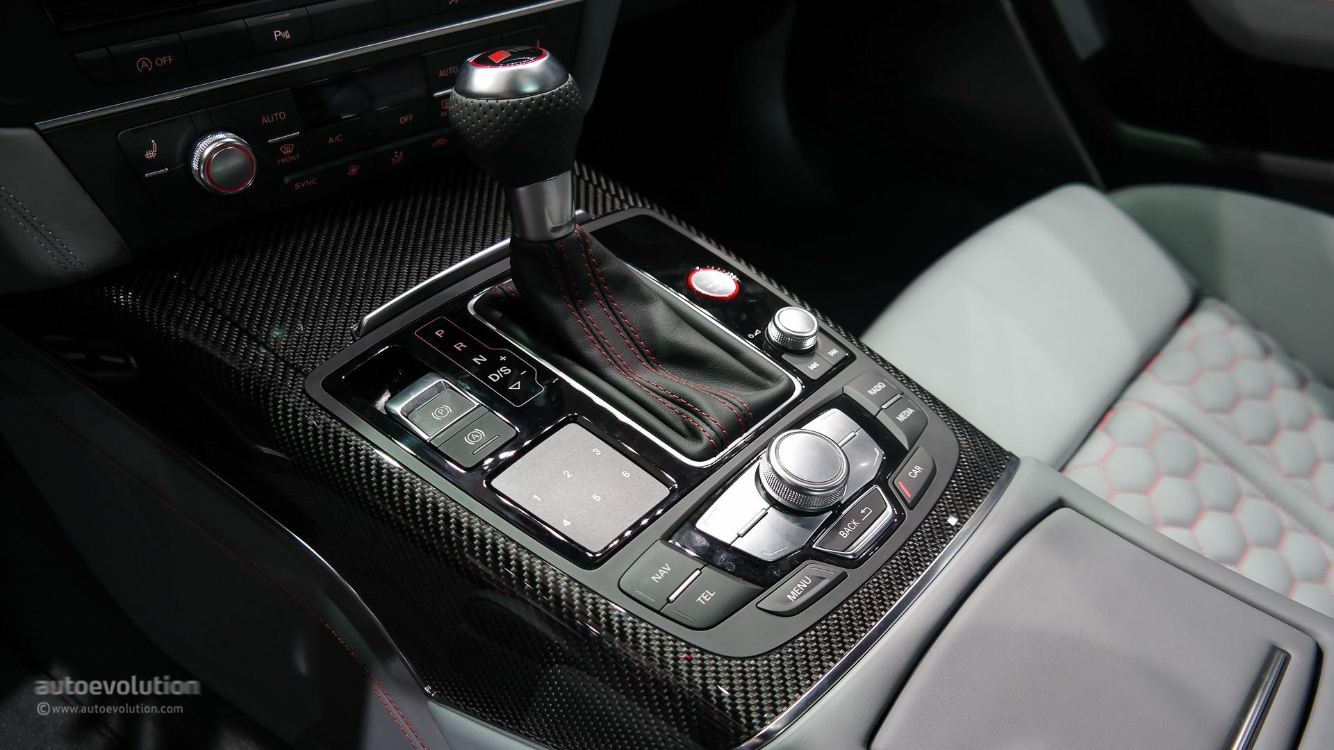 Audi Rs6 2015 Interior