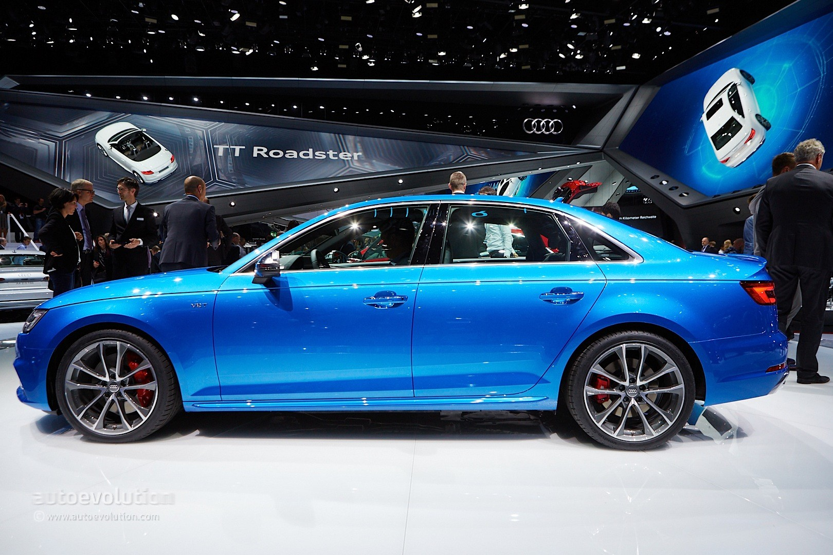 Audi S Sedan And Avant Launched In Germany With HP Turbo - Audi s4 horsepower