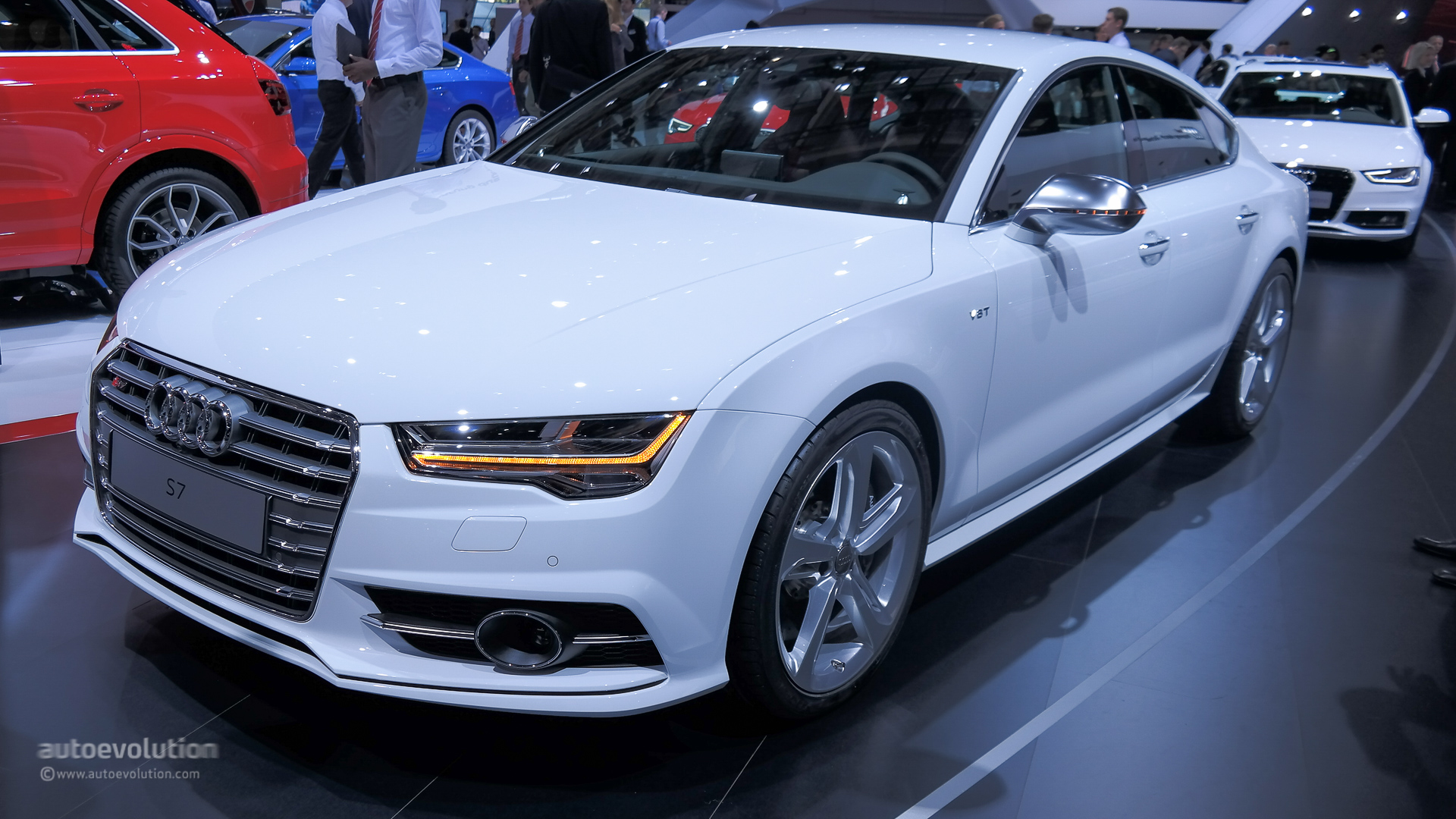 2015 audi s7 facelift bows at paris for the first time. Black Bedroom Furniture Sets. Home Design Ideas