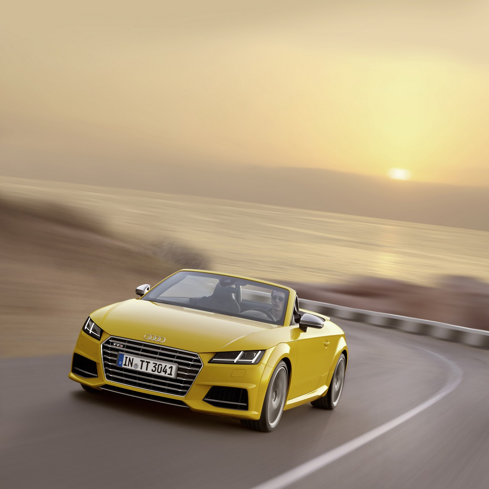 2015 Audi TT And TTS Roadster Revealed: Convertible In 10