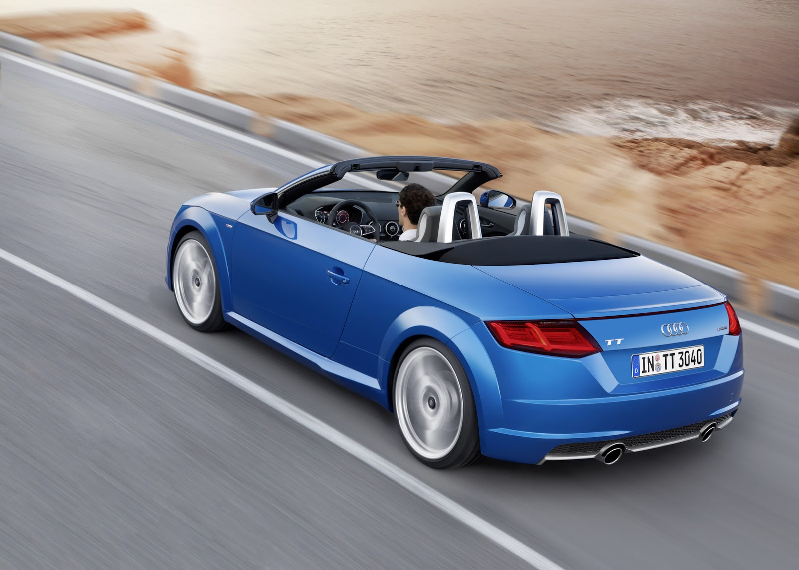 2015 Audi TT and TTS Roadster Revealed: Convertible in 10 ...