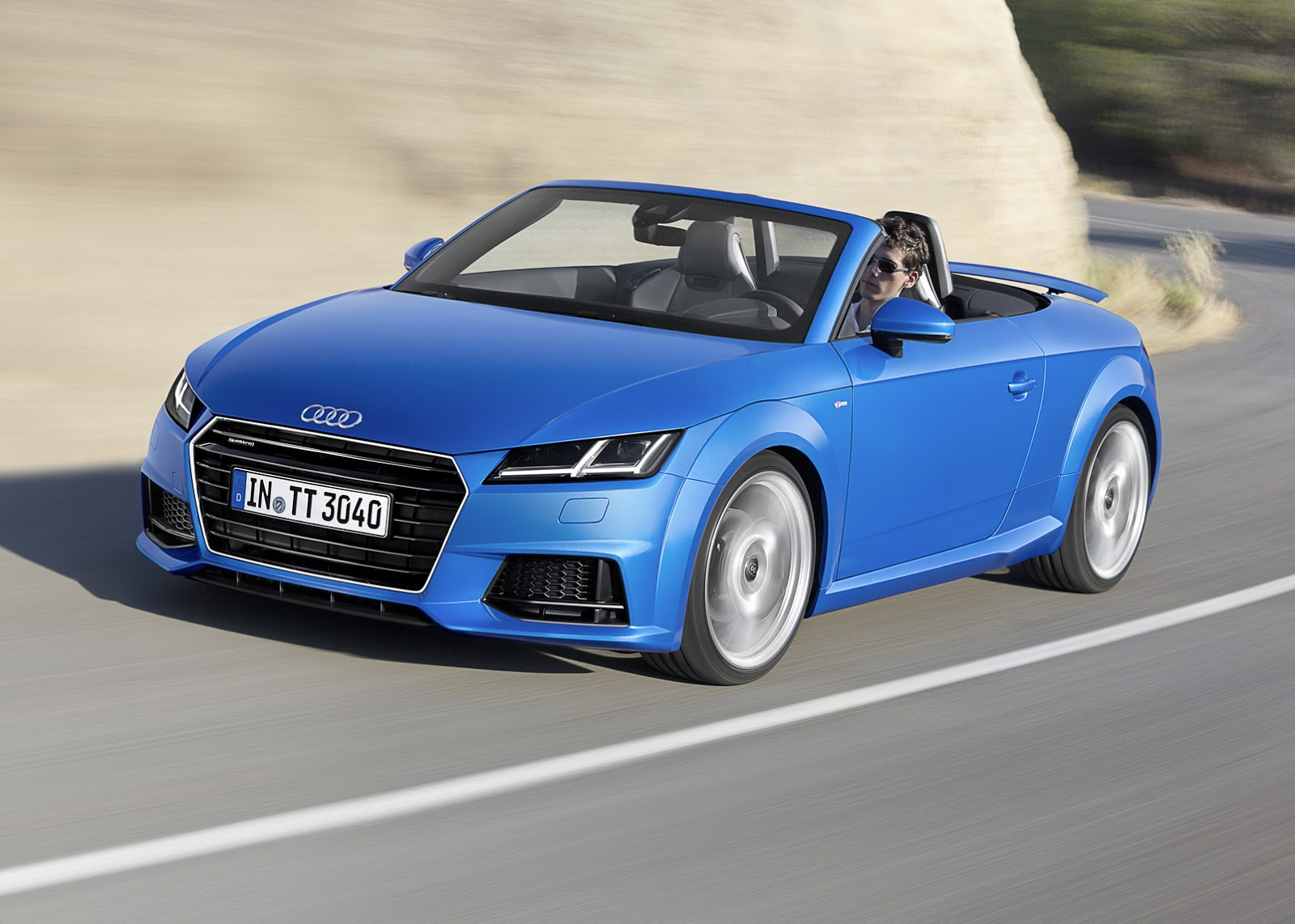 2015 audi tt and tts roadster revealed convertible in 10 seconds autoevolution. Black Bedroom Furniture Sets. Home Design Ideas