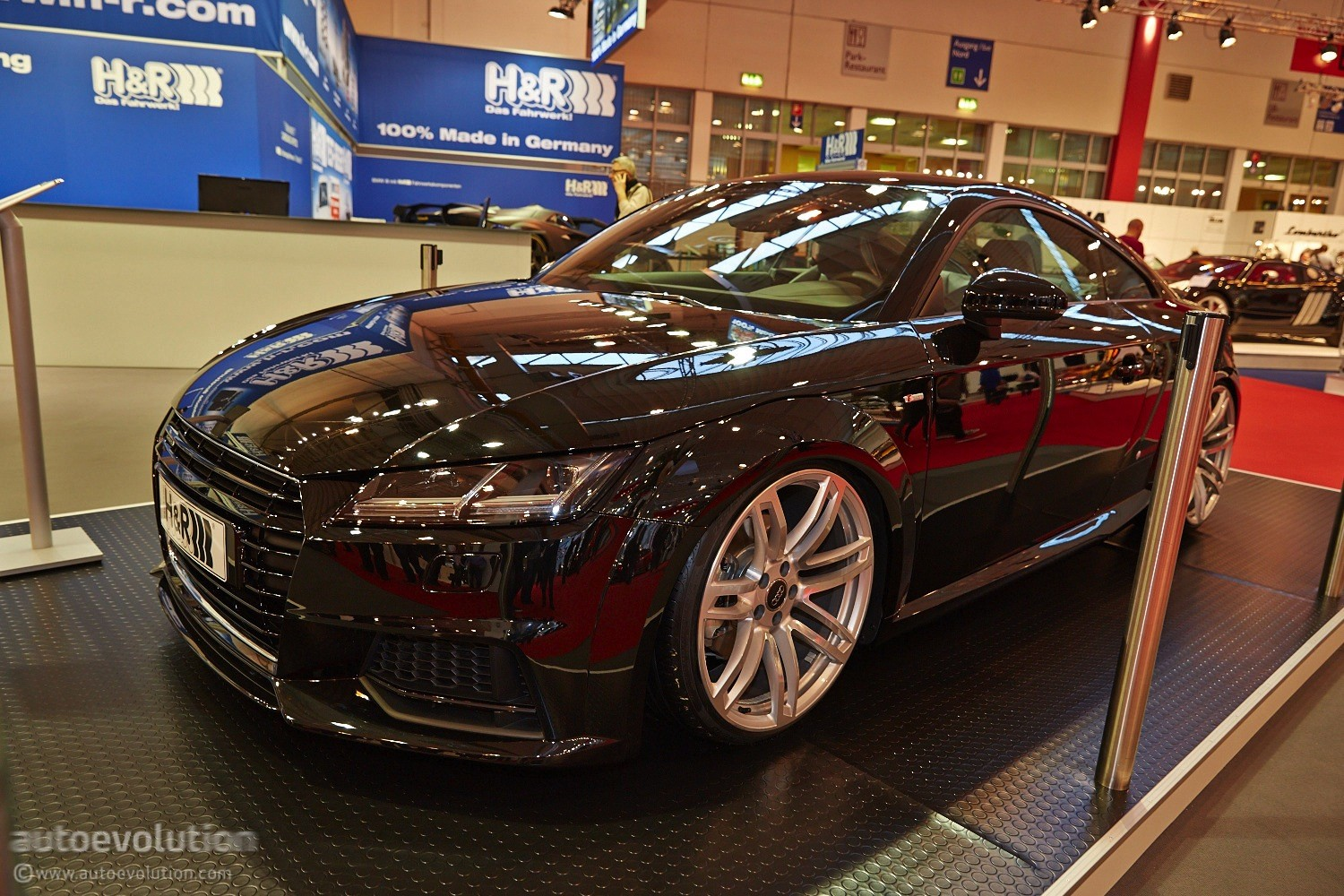 Geneva Auto Sales >> 2015 Audi TT Debuts With Performance Lowering Springs from H&R in Essen [Live Photos ...