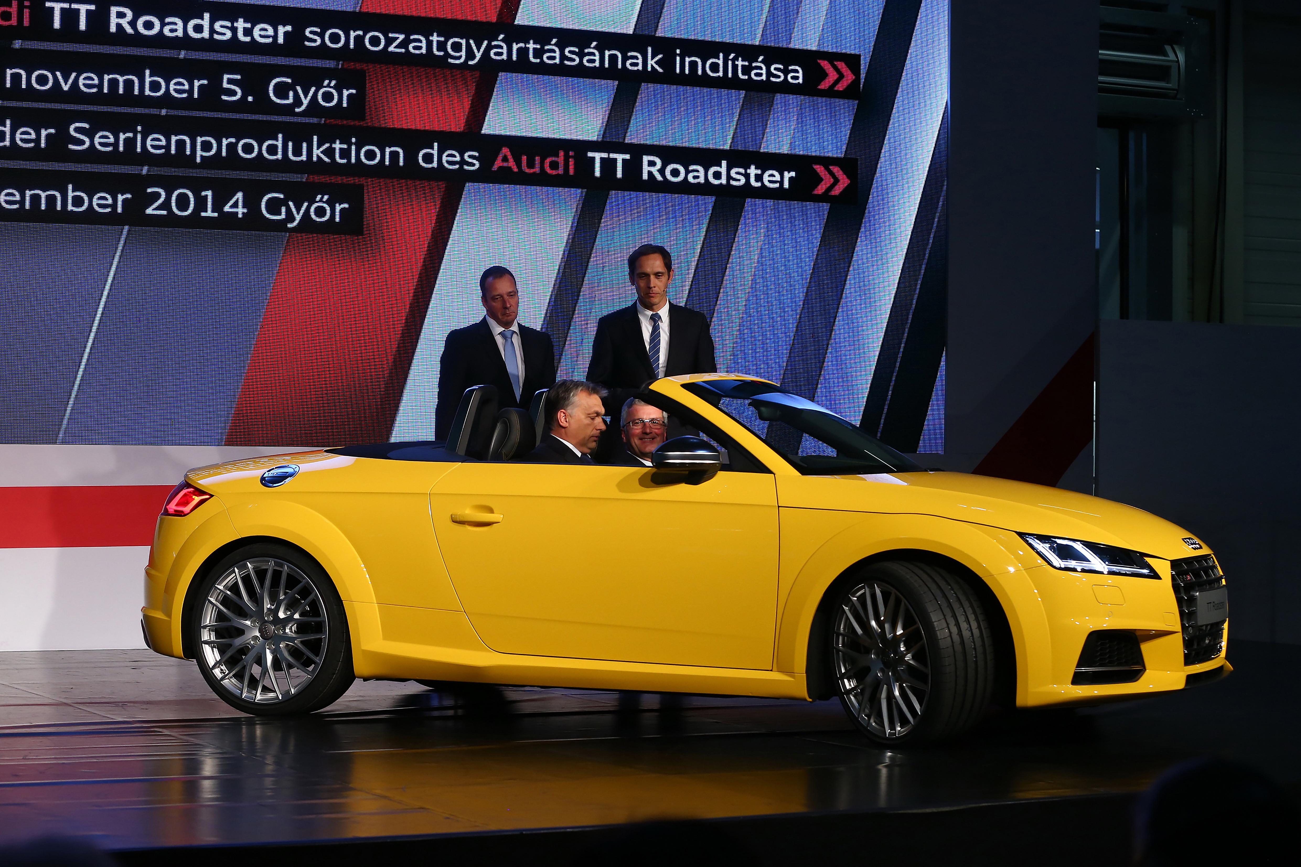 2015 Audi TT Roadster Production Starts in Hungary  autoevolution