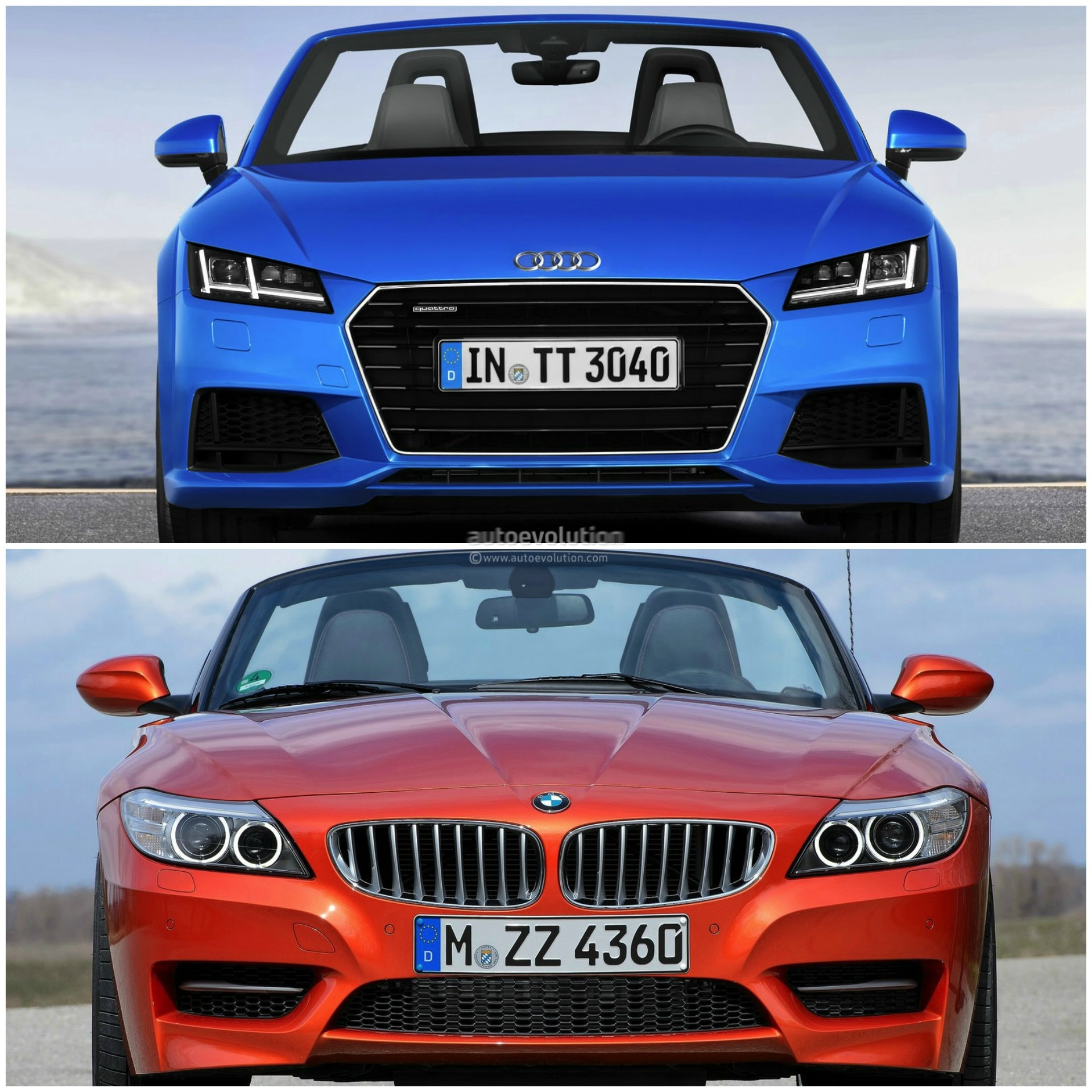 Bmw Z4 Convertible: 2015 Audi TT Roadster Vs 2014 BMW Z4: Roadster Comparison