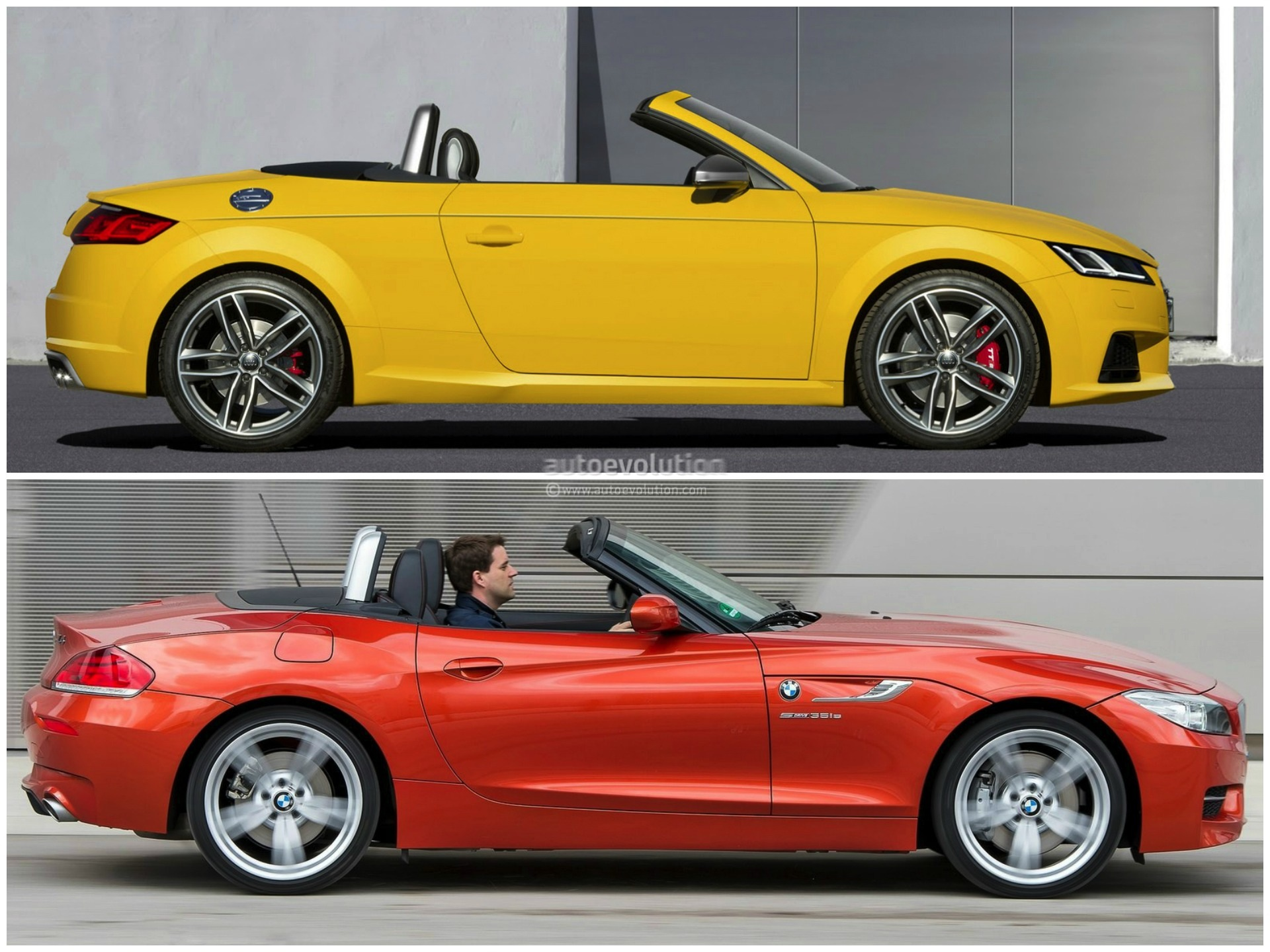 2015 Audi Tt Roadster Vs 2014 Bmw Z4 Roadster Comparison
