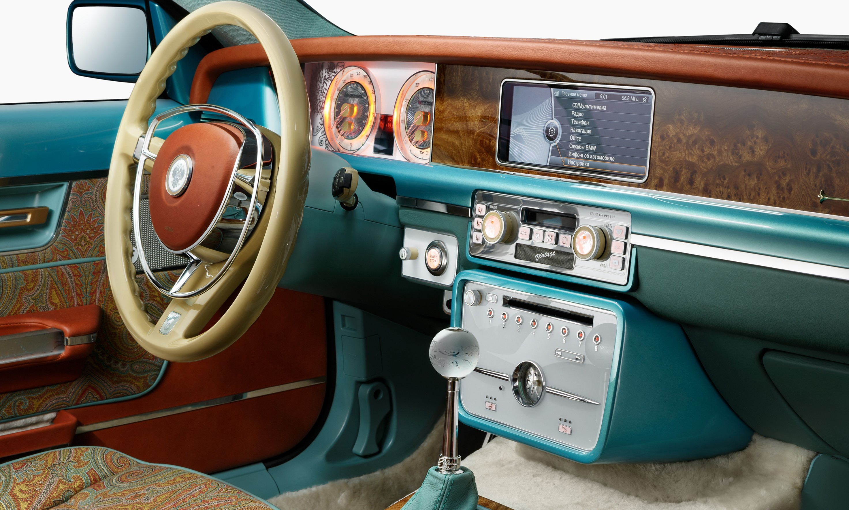 Bilenkin Vintage Is A Bmw M Turned Retro Russian Coupe With Omg Factor on Bmw 5 Series Battery
