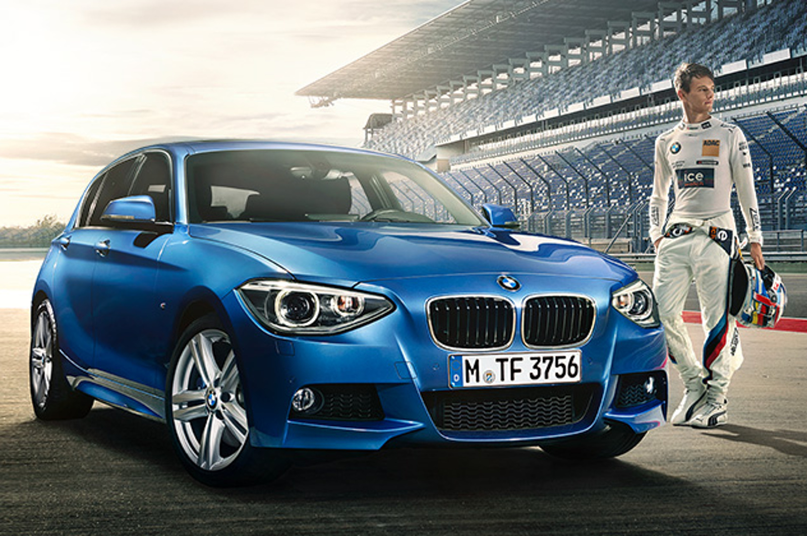 2015 bmw 1 series dtm sport edition shows up in first photos autoevolution. Black Bedroom Furniture Sets. Home Design Ideas