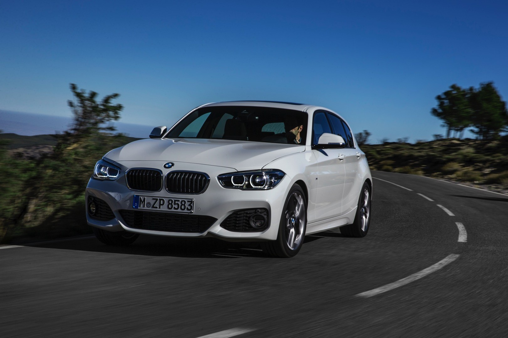 2015 bmw 1 series facelift revealed with new design and more standard kit autoevolution. Black Bedroom Furniture Sets. Home Design Ideas