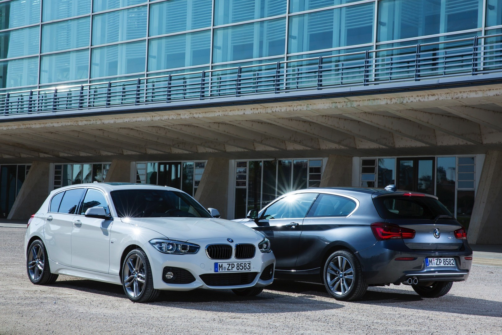 2015 BMW 1 Series Facelift Revealed with New Design and More