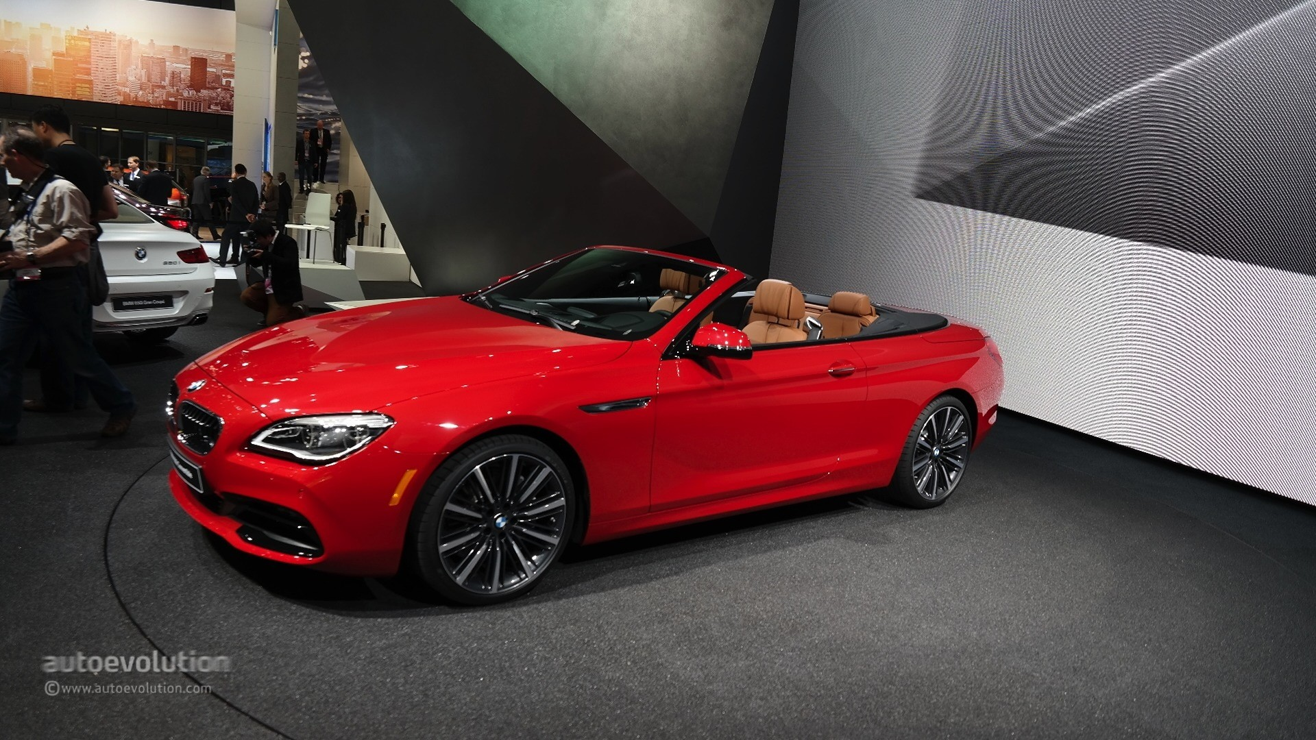 2015 Bmw 6 Series Facelift Coupe And Gran Coupe Show Class At Detroit Auto Show Live Photos