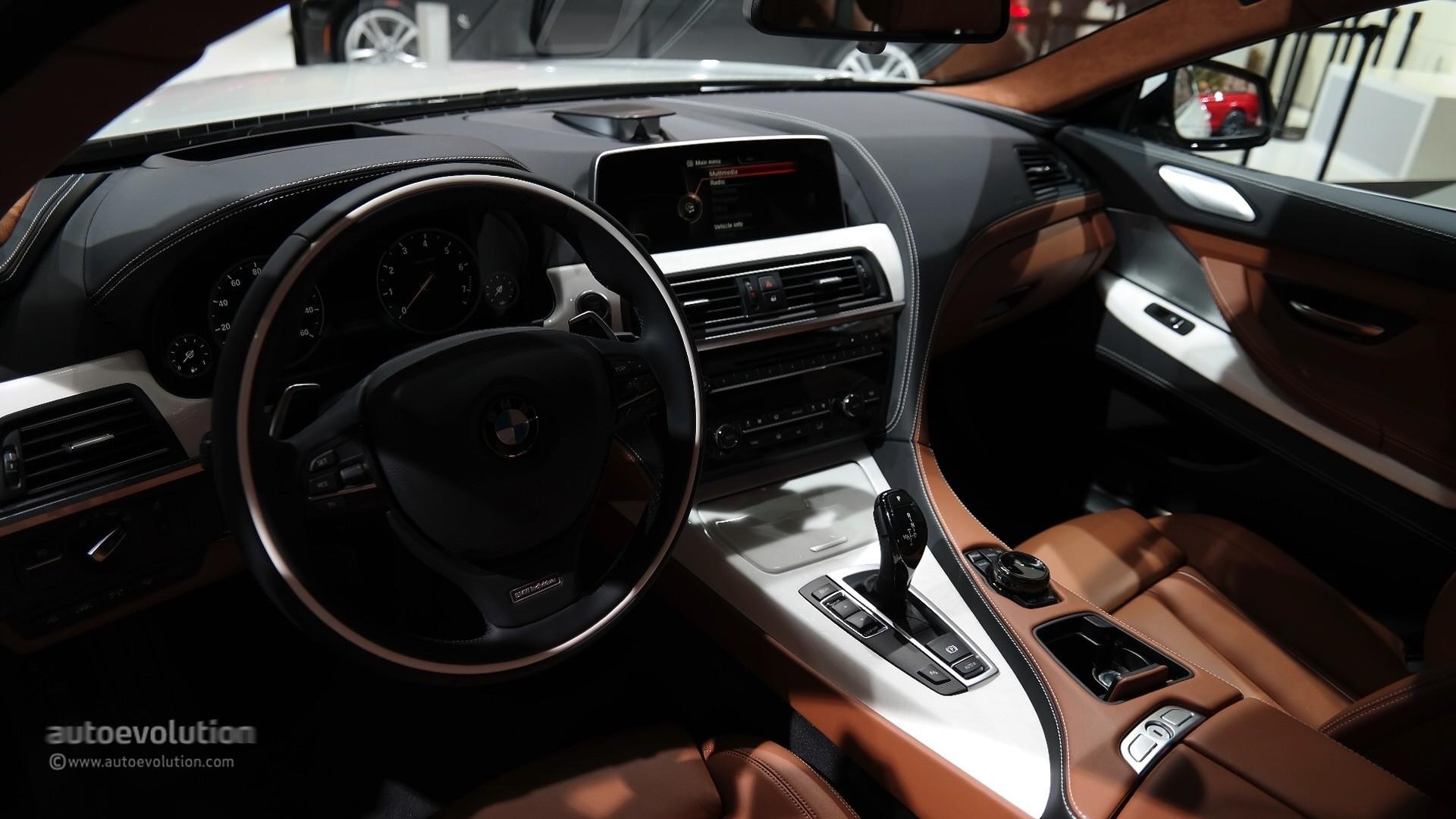 2015 BMW 6 Series Facelift At Detroit Auto Show