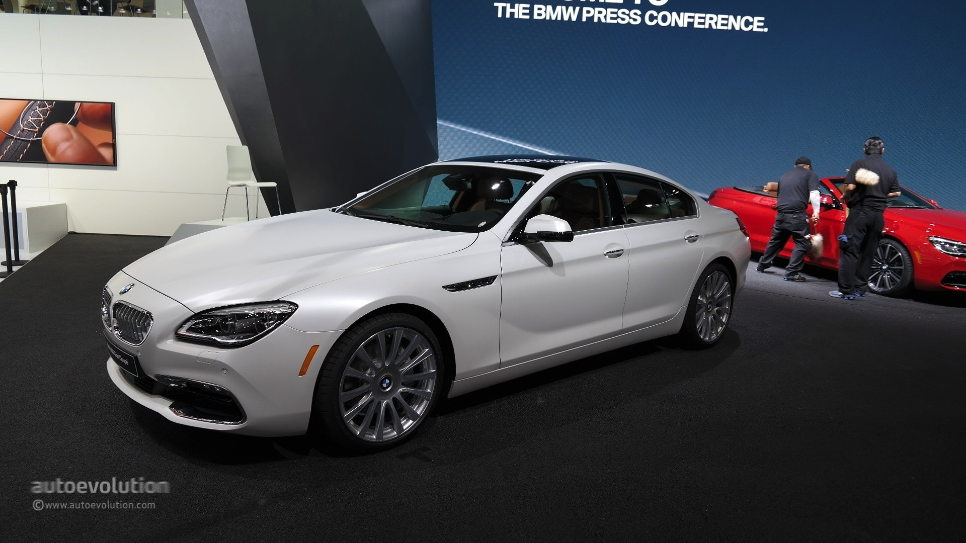 2015 bmw 6 series facelift coupe and gran coupe show class. Black Bedroom Furniture Sets. Home Design Ideas
