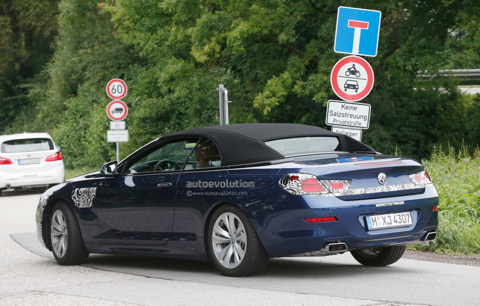 2015 BMW F12 Convertible Facelift Spotted Testing for the ...