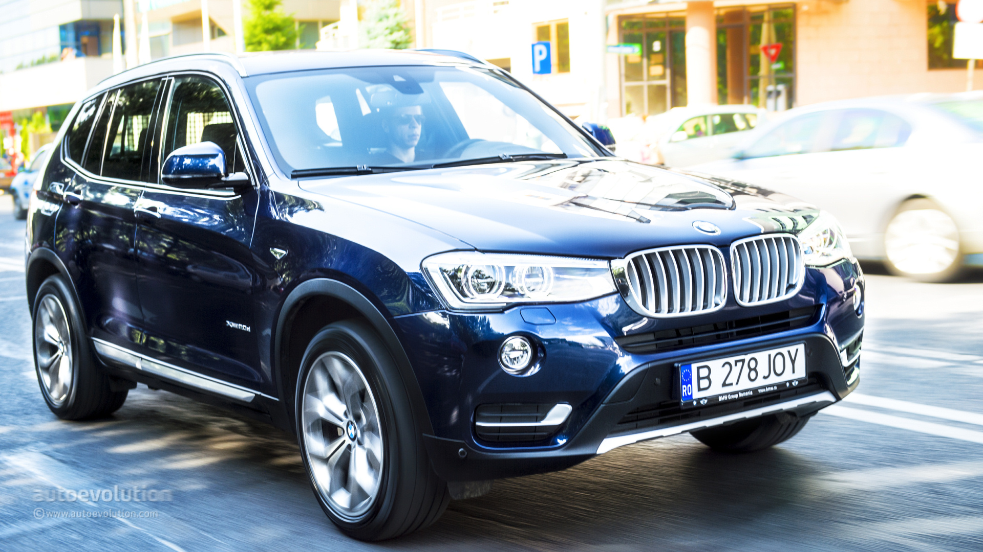 2015 bmw x3 first drive review autoevolution. Black Bedroom Furniture Sets. Home Design Ideas
