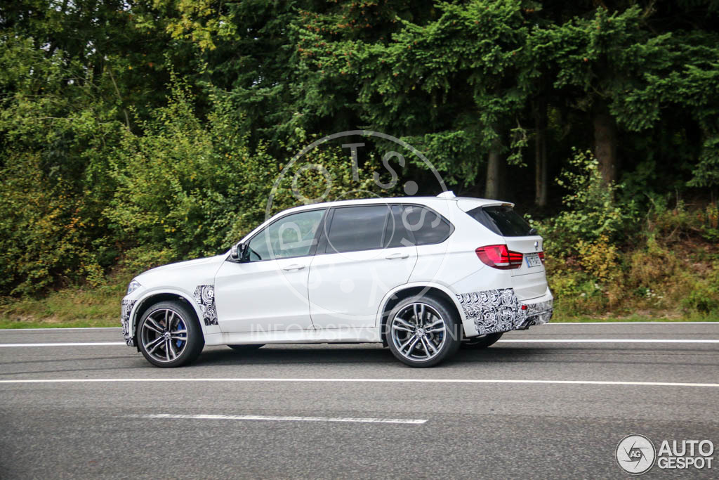 2015 bmw x5 m spotted ahead of la debut autoevolution. Black Bedroom Furniture Sets. Home Design Ideas