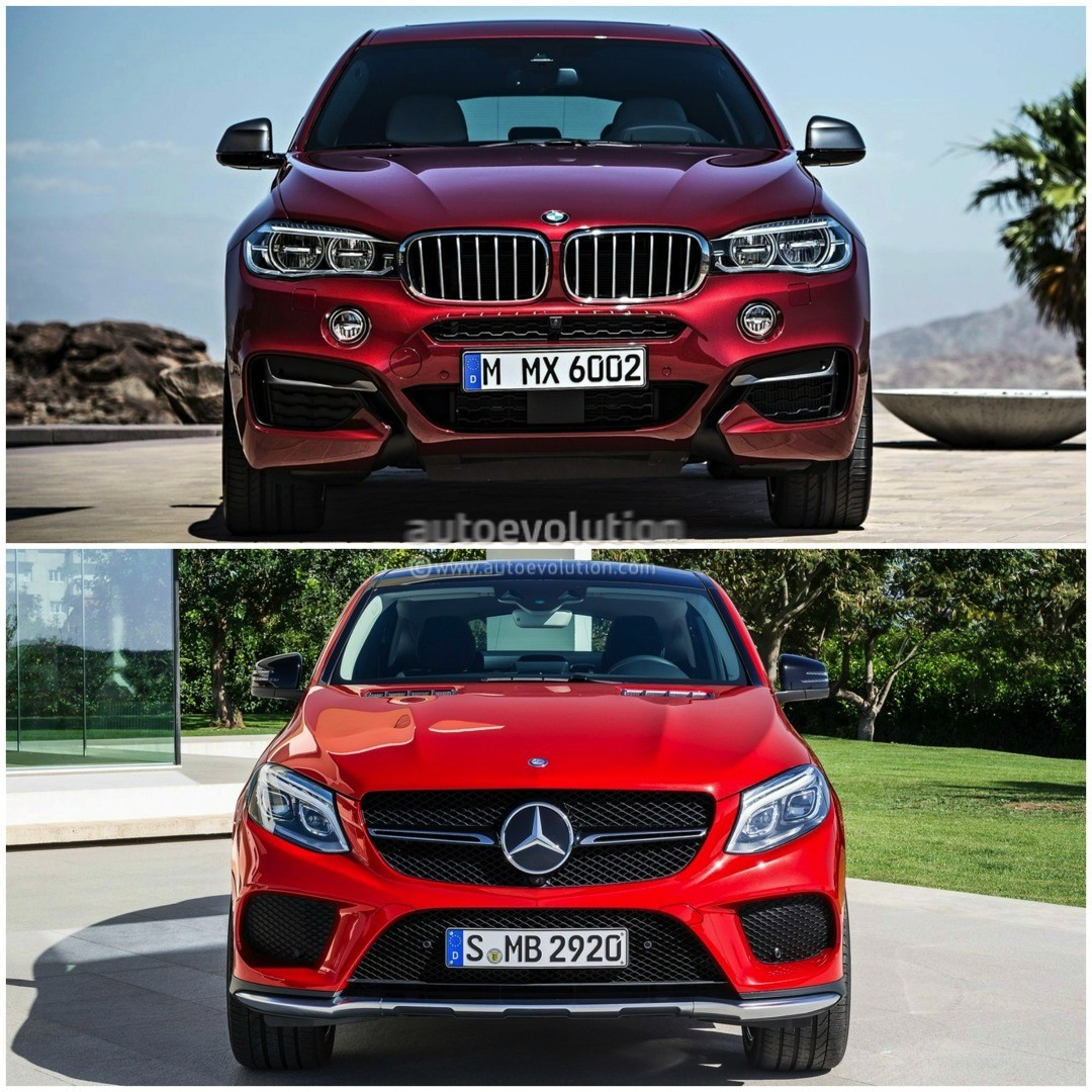 Bmw X6 Price 2015: 2015 BMW X6 Vs Mercedes-Benz GLE Coupe: The Battle Of The