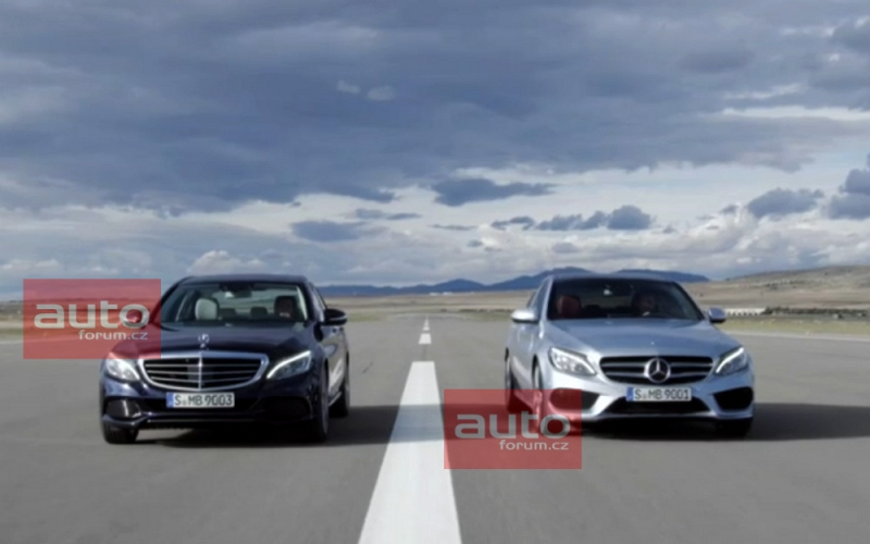 2015 C-Class W205 Elegance and Avantgarde Side by Side - autoevolution