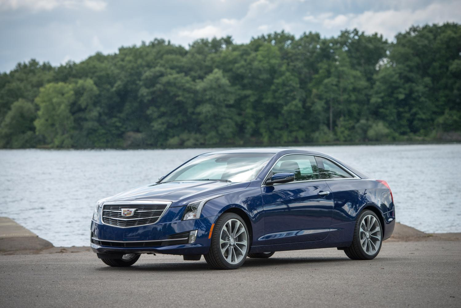 2015 cadillac ats coupe gets more torquey 2 liter turbo. Black Bedroom Furniture Sets. Home Design Ideas