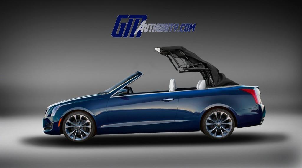 Cadillac Ats Gets New Convertible Renderings