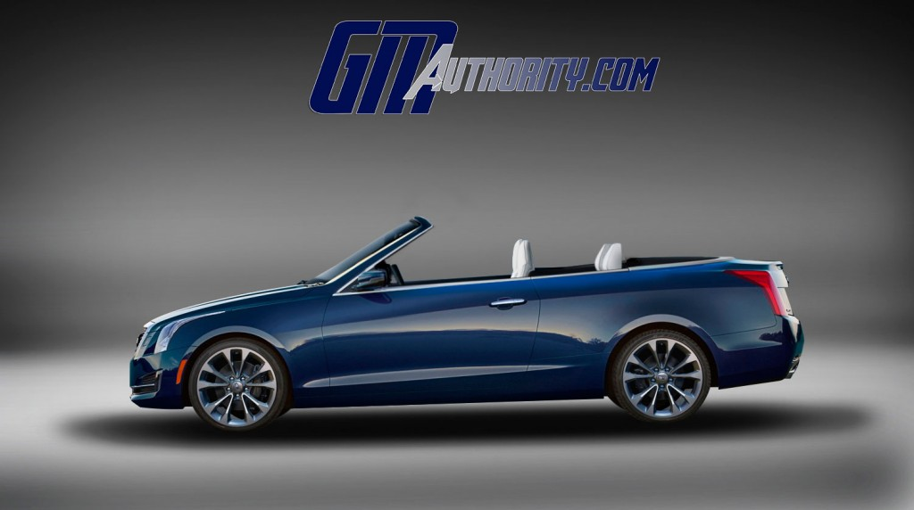 2015 cadillac ats gets new convertible renderings. Black Bedroom Furniture Sets. Home Design Ideas