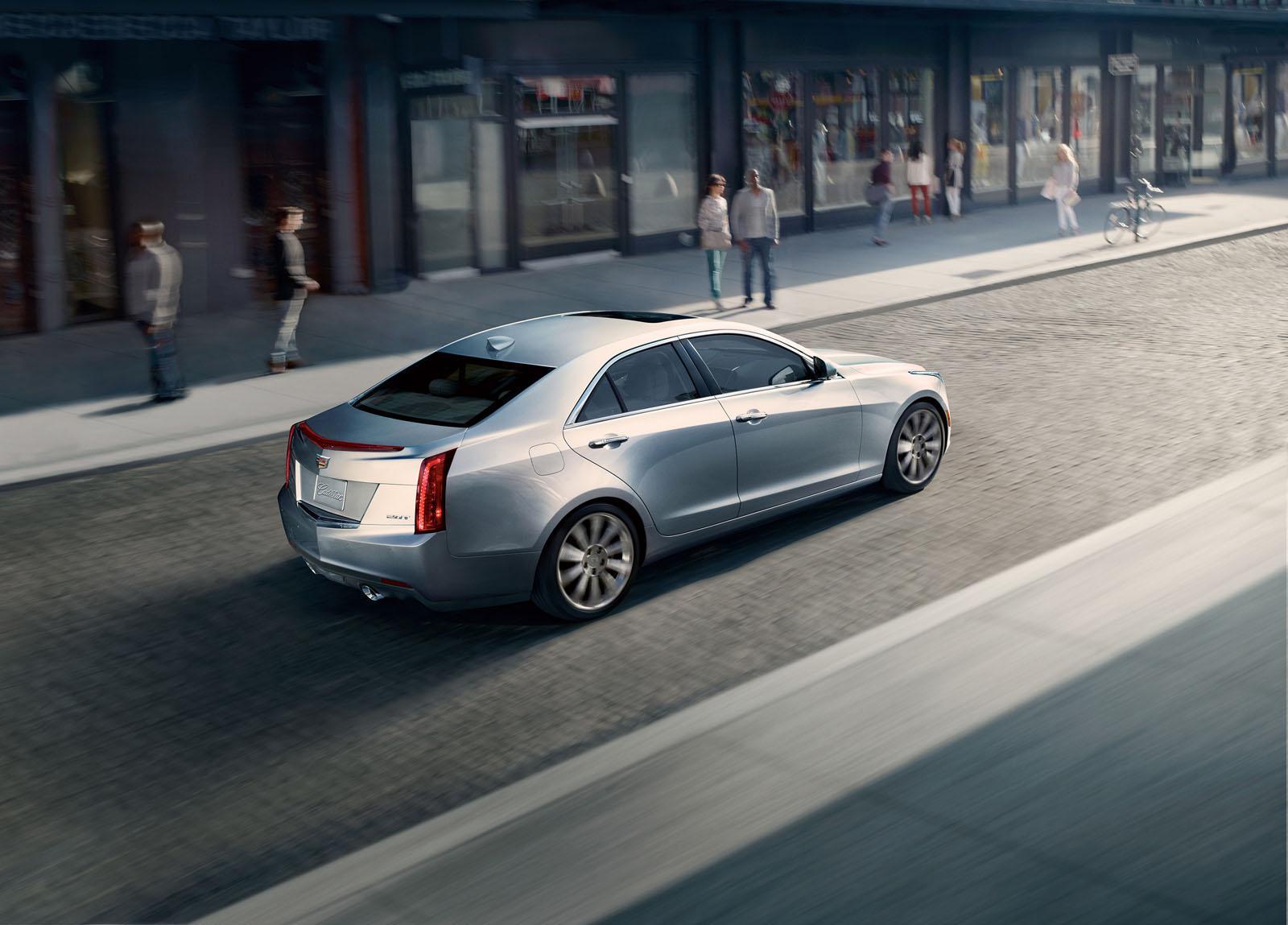 2015 cadillac ats sedan officially unveiled autoevolution. Black Bedroom Furniture Sets. Home Design Ideas
